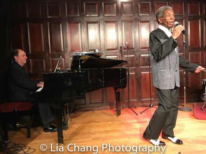 Larry Spivack and André De Shields. Photo by Lia Chang