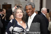 Lissa Moira and André De Shields. Photo by Lia Chang