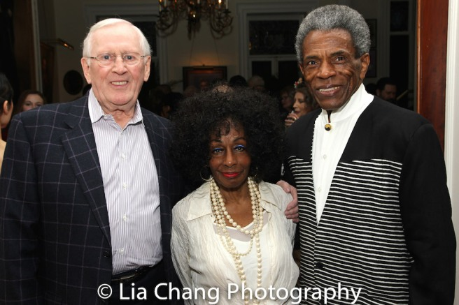 Len Cariou, Vinie Burrows and André De Shields. Photo by Lia Chang
