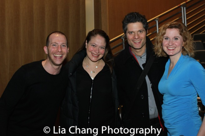Charlie Alterman, Rita Pietropinto, Tom Kitt and Christiane Noll. Photo by Lia Chang