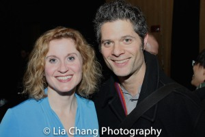 Christiane Noll and Tom Kitt. Photo by Lia Chang