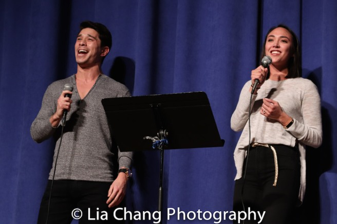 Sam Tanabe and Belinda Allyn. Photo by Lia Chang
