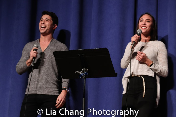 Sam Tanabe and Belinda Allyn. Photo by Lia Chang