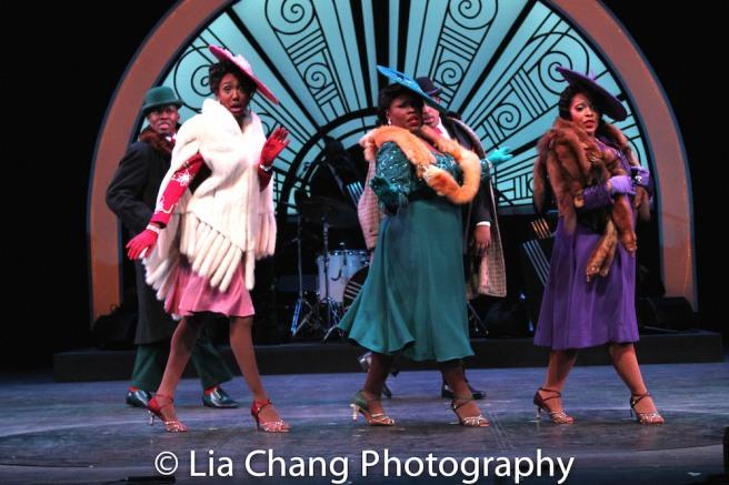 Borris York, Zurin Villanueva, Johmaalya Adelekan, Rheaume Crenshaw. Photo by Lia Chang