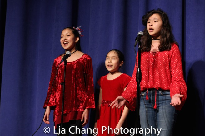 Avelina Sanchez, Isabela Sanchez and Sabrina Green. Photo by Lia Chang