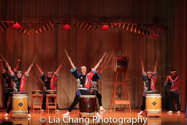 New York Taiko Aiko Kai. Photo by Lia Chang