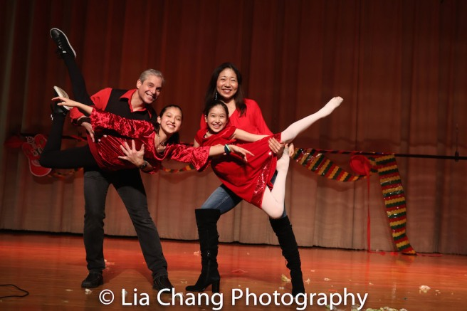 Alex Sanchez, Avelina Sanchez, Isabela Sanchez and Lainie Sakakura. Photo by Lia Chang
