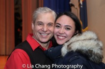Alex Sanchez and Belinda Allyn. Photo by Lia Chang
