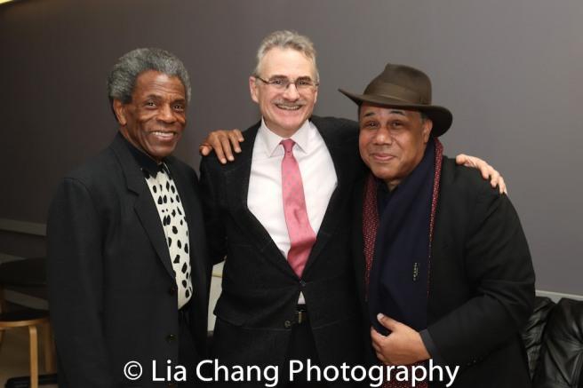 André De Shields, Murray Horwitz and David Alan Bunn. Photo by Lia Chang