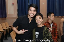Telly Leung and Kai Rivera. Photo by Lia Chang