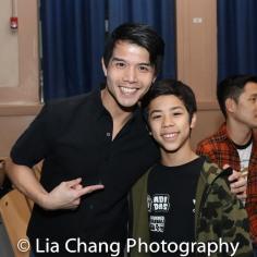 Telly Leung and Kai Rivera. Photo by Lia Chang