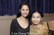 Ali Ewoldt, Rika Nishikawa. Photo by Lia Chang