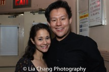 Ali Ewoldt and Kelvin Moon Loh. Photo by Lia Chang
