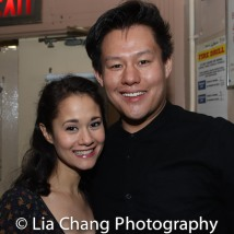 Ali Ewoldt and Kelvin Moon Loh. Photo by Lia Chang