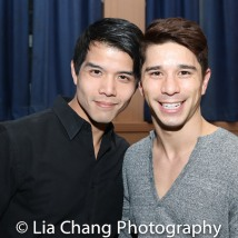 Telly Leung and Sam Tanabe. Photo by Lia Chang