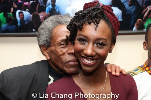 André De Shields and Zurin Villanueva. Photo by Lia Chang
