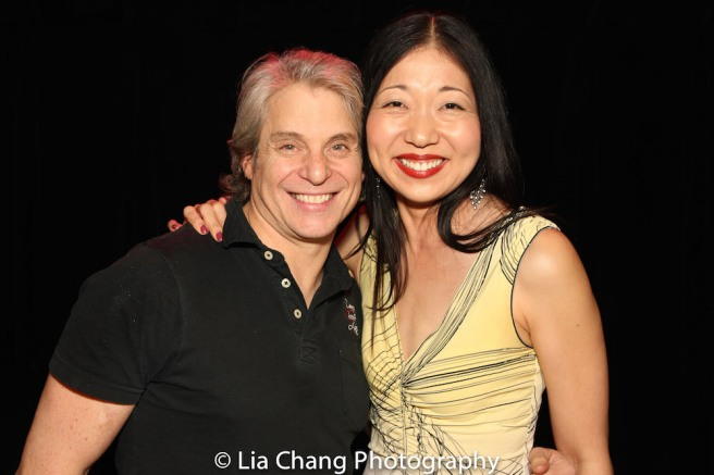 Alex Sanchez and Lainie Sakakura. Photo by Lia Chang