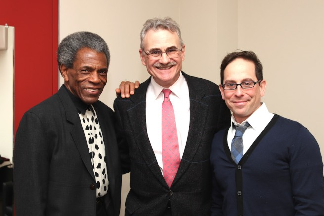 André De Shields, Murray Horwitz and Garth Kravits. Photo by Lia Chang