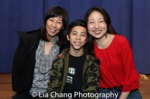 Edith Baltazar, Kai Rivera and Lainie Sakakura. Photo by Lia Chang
