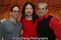 Garth Kravits, Lainie Sakakura and Alex Sanchez. Photo by Lia Chang