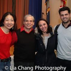 Lainie Sakakura, Alex Sanchez, Belinda Allyn and Sam Prince. Photo by Lia Chang