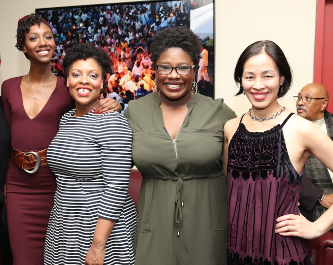 Zurin Villanueva, Rheaume Crenshaw, Johmaalya Adelekan, Lia Chang. Photo by Garth Kravits