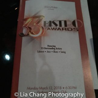 2018-3-12 33rd Bistro Awards. Photo by Lia Chang-19