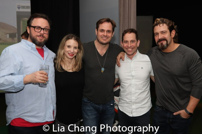 Jay Klaitz, Sarah Saltzberg, Mitch Jarvis, Garth Kravits and Brandon Williams. Photo by Lia Chang
