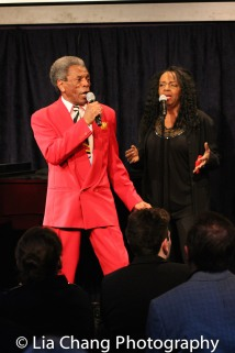 André De Shields and Freida Williams. Photo by Lia Chang