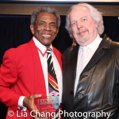 André De Shields and Gerry Geddes. Photo by Lia Chang