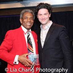 André De Shields and Joshua Lance Dixon. Photo by Lia Chang