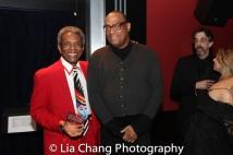 André De Shields and Kevin Joseph. Photo by Lia Chang