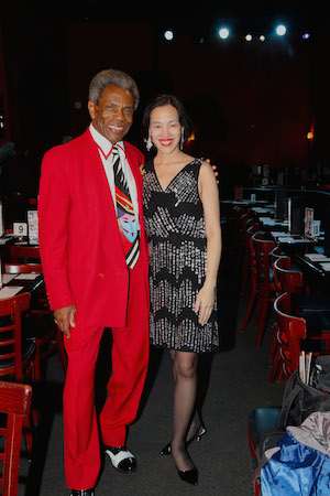 André De Shields and Lia Chang. Photo by Garth Kravits.