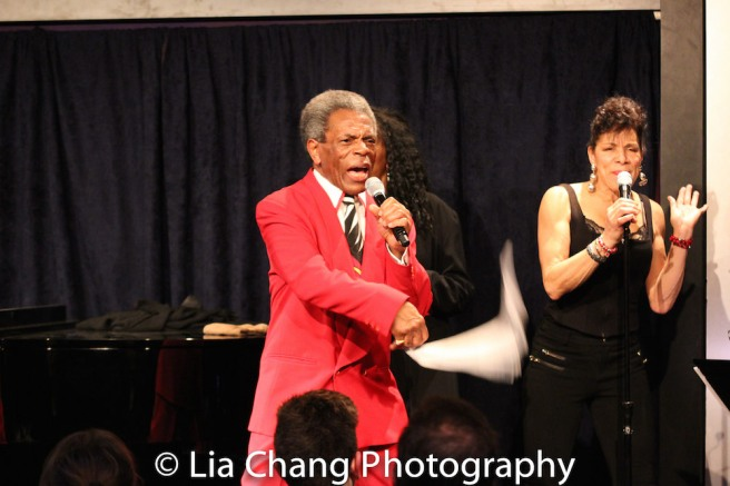 André De Shields and Marlene Daniels. Photo by Lia Chang