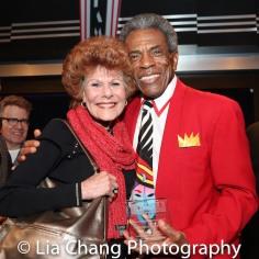 Ann Dawson and André De Shields. Photo by Lia Chang