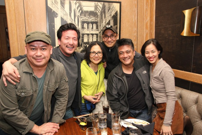 Brian Jose, Brian Kim, Lydia Gaston, JoJo Gonzalez, Ariel Estrada, Lia Chang. Photo by Garth Kravits