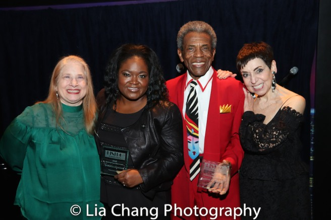 Director Shellen Lubin, Honorees Shemekia Copeland and André De Shields, and producer Sherry Eaker. Photo by Lia Chang