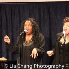 Freida Williams and Marlene Daniels. Photo by Lia Chang