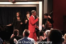 Freida Williams, Marlene Daniels, André De Shields and Ritt Henn. Photo by Lia Chang