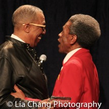 George Faison and André De Shields. Photo by Lia Chang