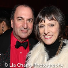 Larry Spivack, his wife Rise Clemmers. Photo by Lia Chang