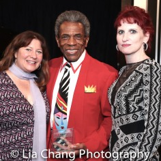Maria Banks, André De Shields and Wendy Lane Bailey. Photo by Lia Chang