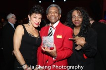 Marlene Daniels, André De Shields and Freida Williams. Photo by Lia Chang
