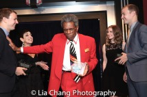 Peter Anderson, Sherry Eaker, André De Shields, Amanda Rosenburg and Will Anderson. Photo by Lia Chang