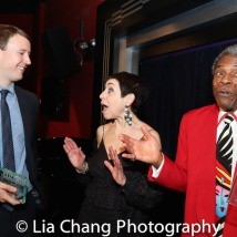 Peter Anderson, Sherry Eaker, André De Shields. Photo by Lia Chang
