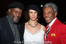 SaMi Chester, Deborah M. Pratt and André De Shields. Photo by Lia Chang