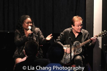 Shemekia Copeland and Arthur Neilson. Photo by Lia Chang