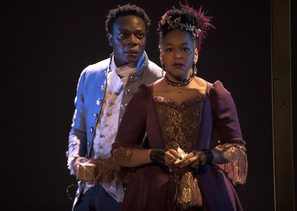 Chukwudi Iwuji and Crystal A. Dickinson. © Joan Marcus