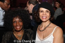 Vinie Burrows and Deborah M Pratt. Photo by Lia Chang