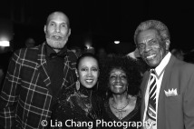 Westley Thomas, Yvonne Curry, Vinie Burrows and André De Shields. Photo by Lia Chang